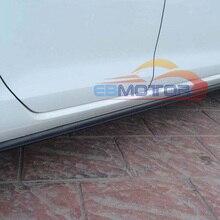 Реальные углеродного волокна боковые юбки для VW Golf7 Golf VII стандартная модель V048