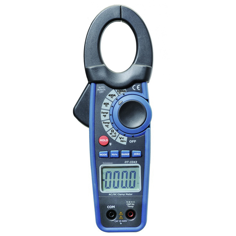 The power industry Digital clip-on table Big clip-on openings clamp meter DT-3343 цена