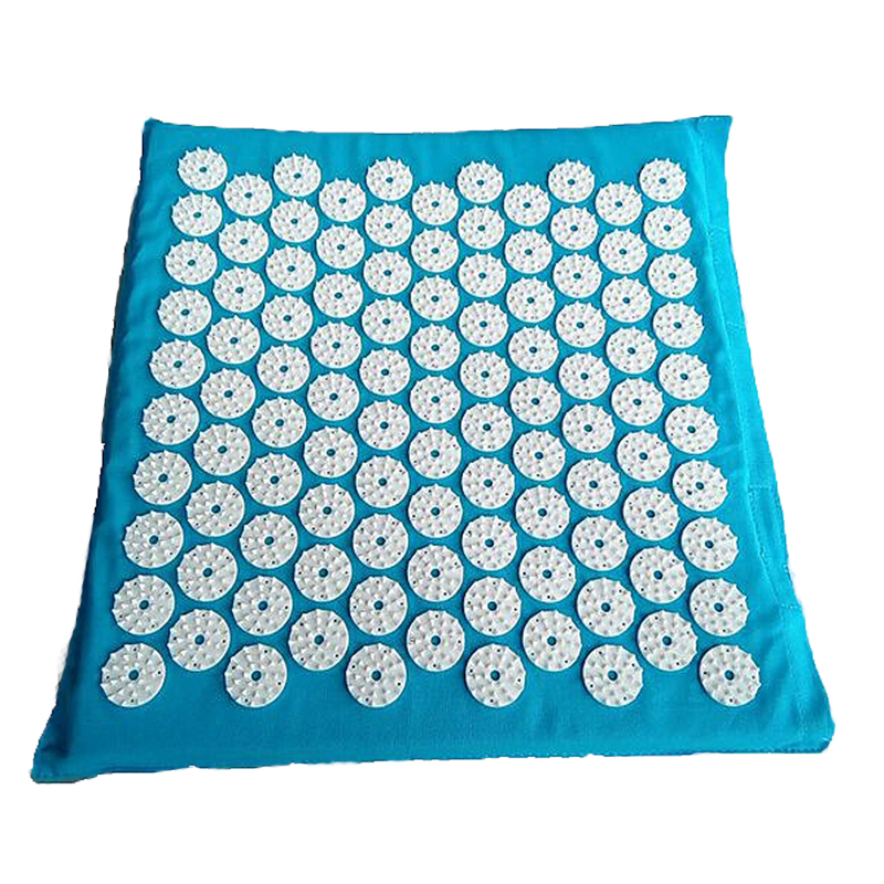 27nails/spike Acupressure Massage Mat Shakti Mat Body Back Butt Massager Yoga Cushion Relieve Mind Stress and Pain MP0017 hanriver massager cushion for shakti