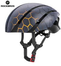 цена на ROCKBROS Cycling Helmet EPS Integrally-molded  Reflective MTB Helmet Ultralight Road Mountain Bike Helmet Men Women
