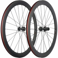 Carbon Disc Brake Wheelset Road Bike 50mm Clincher Carbon Wheels 23mm Wide Chinese Carbon Bicycle Wheel