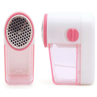 2pcs New Random Color Fabric Sweater Cloth Shaver Fuzz Pill Ball Lint Remover Battery Operated Mini
