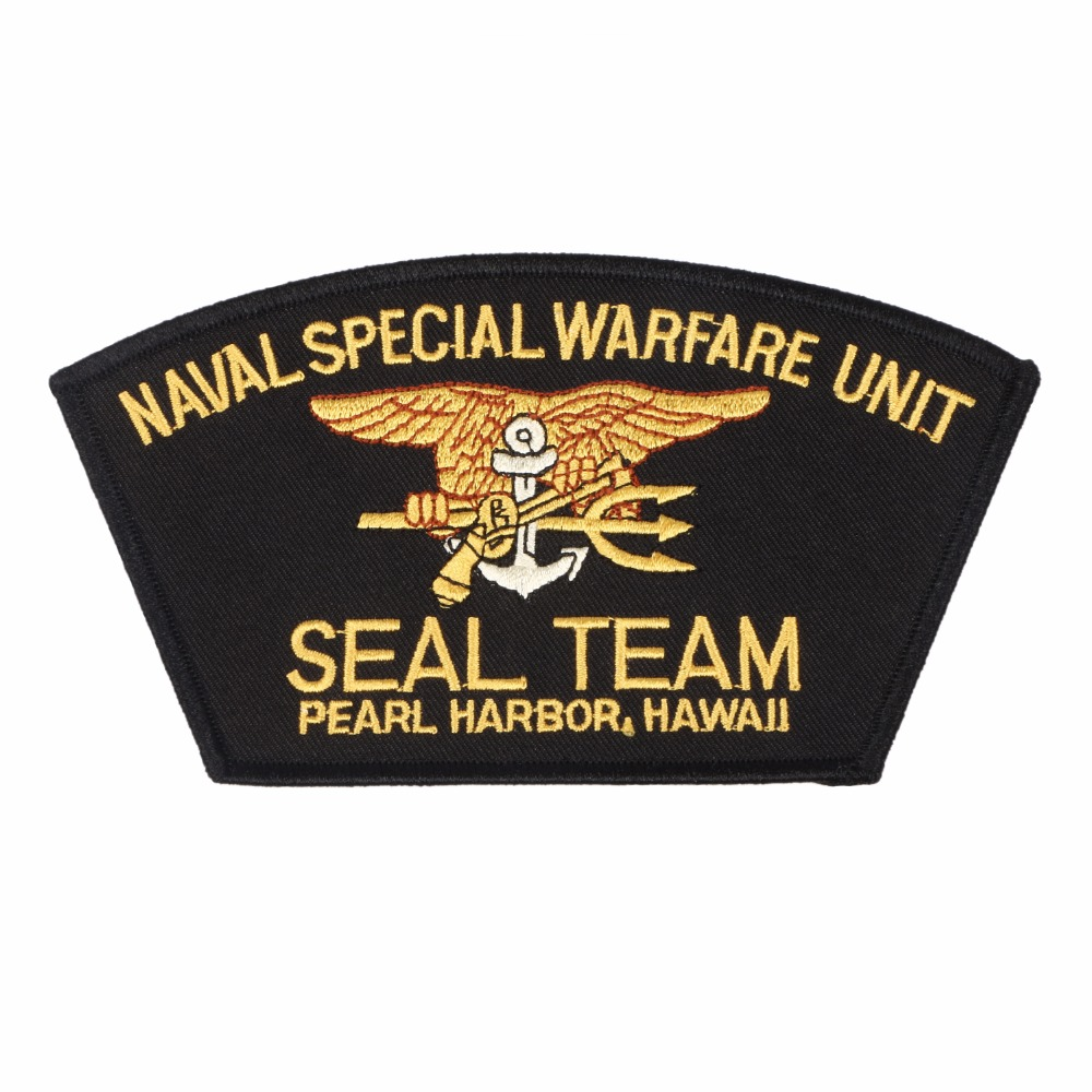 US NAVAL SPECIAL WARFARE UNIT SEAL TEAM PEARL HARBOR HAWAII PATCH