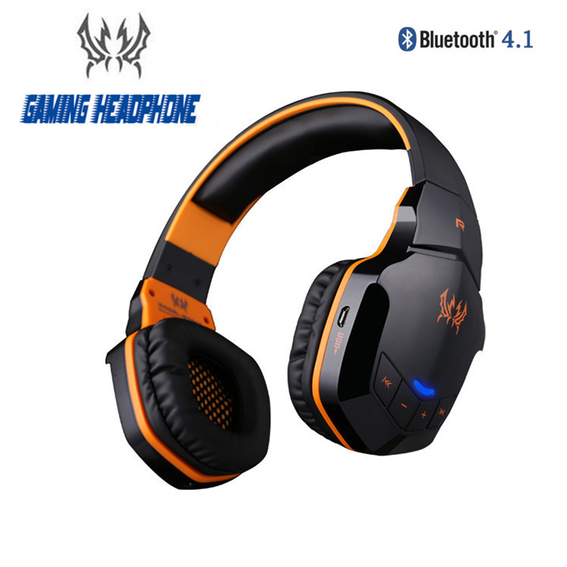 KOTION EACH B3505 Wireless Headphones Bluetooth 4.1 Stereo Gaming Headset Support NFC with Mic for iPhone6/ 6 Plus Samsung creative workshops 4s iphone6 diy plus