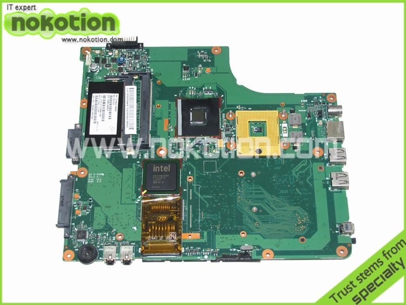 V000108050 Laptop Motherboard for Toshiba Satellite A205 1310A2120806 Intel 945GM ddr2 Mainboard Full Tested for toshiba satellite l745 l740 intel laptop motherboard a000093450 date5mb16a0 hm65 tested