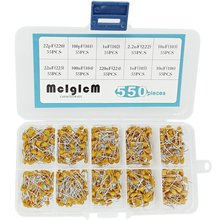 MCIGICM 550Pcs 22pF-10uF DIP Monolithic Multilayer Ceramic Chip Capacitors Assortment Kit hqcemm120gah6a ceramic film capacitors mr li