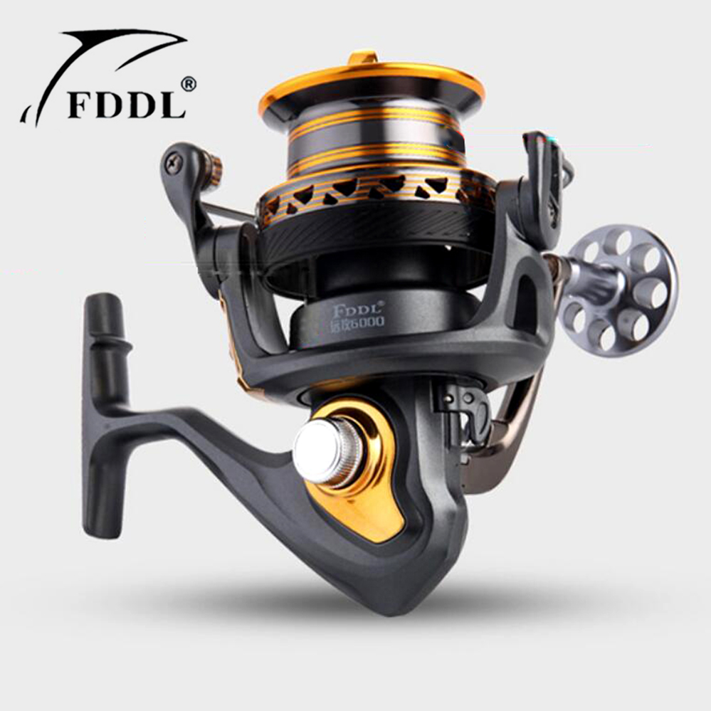 Fishing carretilha Carp Reel 13+1BB spinning reel large long shot wheel fishing coil sea saltwater spinning reel pesca fddl 9000 10000 large long shot fishing wheel 12 1bb 4 9 1 full metal line cup spinning reel fishing reel carretilha para pesca