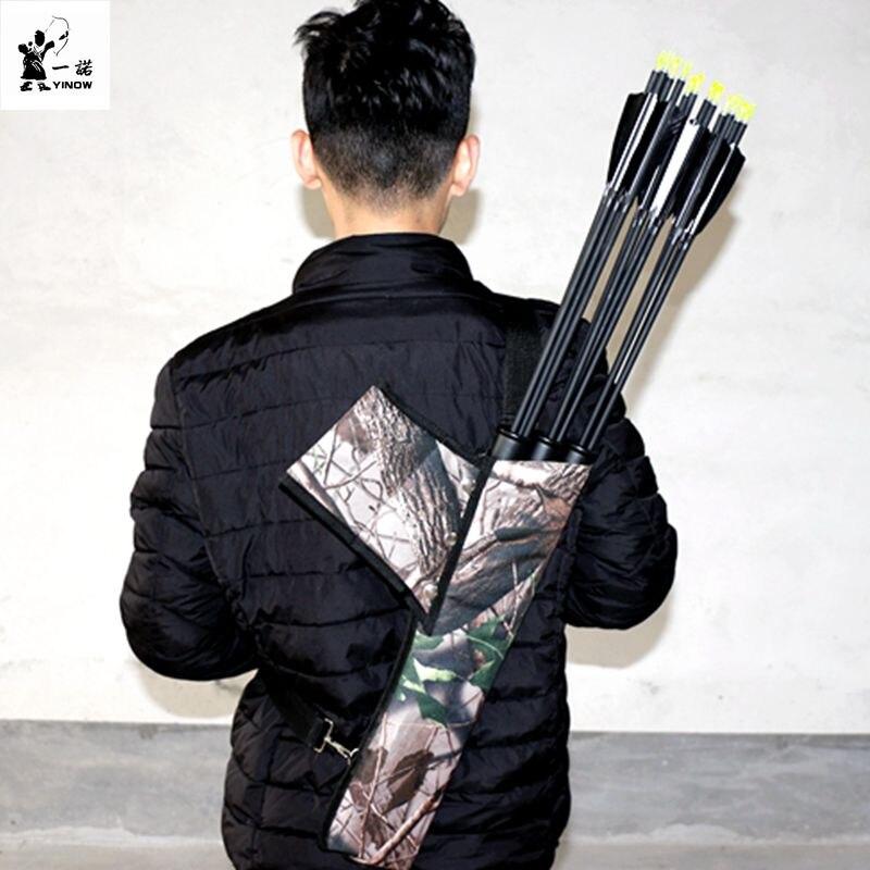 게임 사냥 화살통 스포츠 용품 재봉틀은 허리를 쓰러 뜨릴 수있는 3 화살통 운하 타기