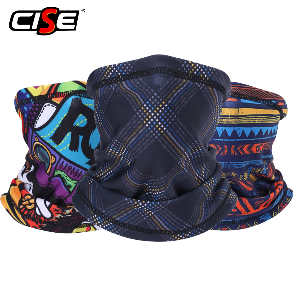 Fleece Neck Gaiter Protection Face Mask Warmer Windproof Motorcycle Tubular Scarf Head Balaclava Fishing Ski Snowboard Bandana