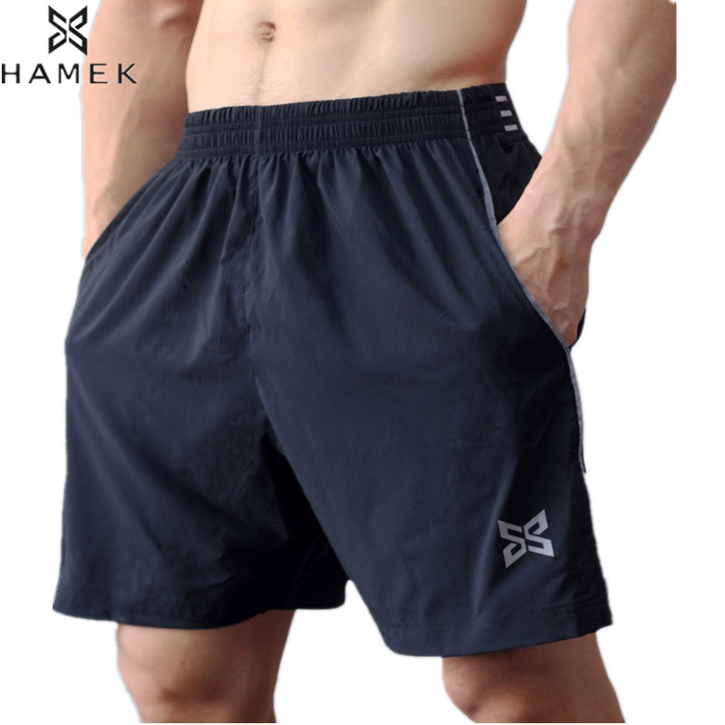 Men New Sports Shorts Quick Dry Running Shorts Boys Football Breathable Athletic Gym Jog ...