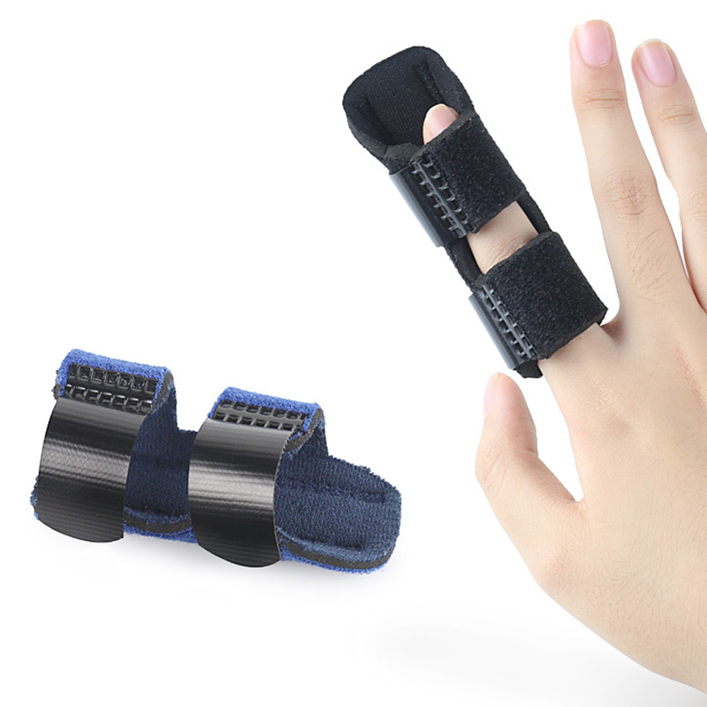 Trigger Finger Splint Built-in Aluminium Support Trigger Mallet Finger Brace Relieve Pain(China)