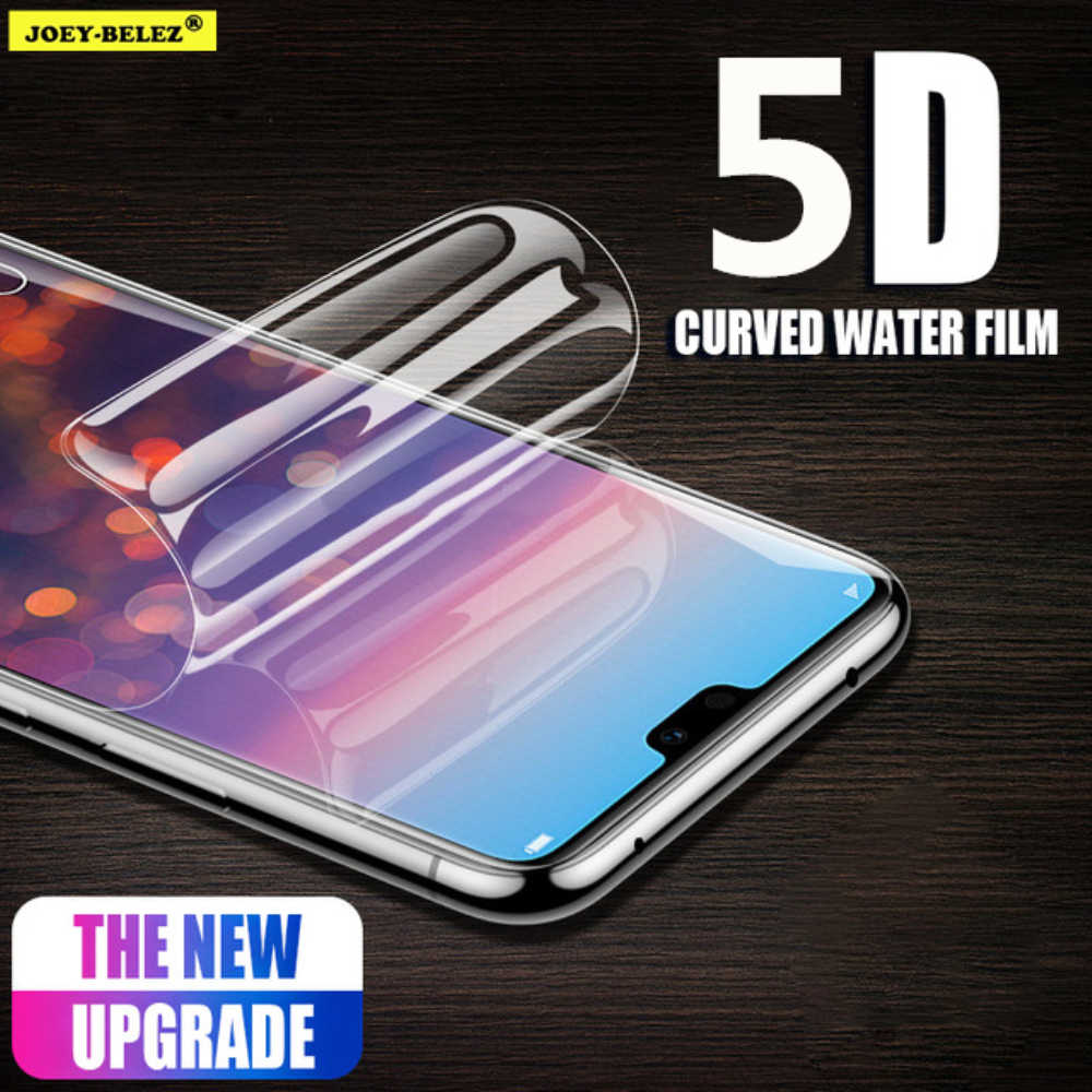 Soft Hydrogel Film Full Cover Screen Protector on Honor 9 8 Lite V10 7A 7C Y5 Y9 2018 for Huawei P Smart P10 Lite Film Not Glass