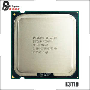 Intel Xeon E3110 3.0 GHz Dual-Core CPU Processor 1333 L2=6M 65W LGA 775