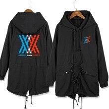 Casual Men Coat Anime OVERLORD Albedo Ainz Ooal Loose Long Hoodie Cosplay Trench Jacket Sweatshirt Thicken Overcoat