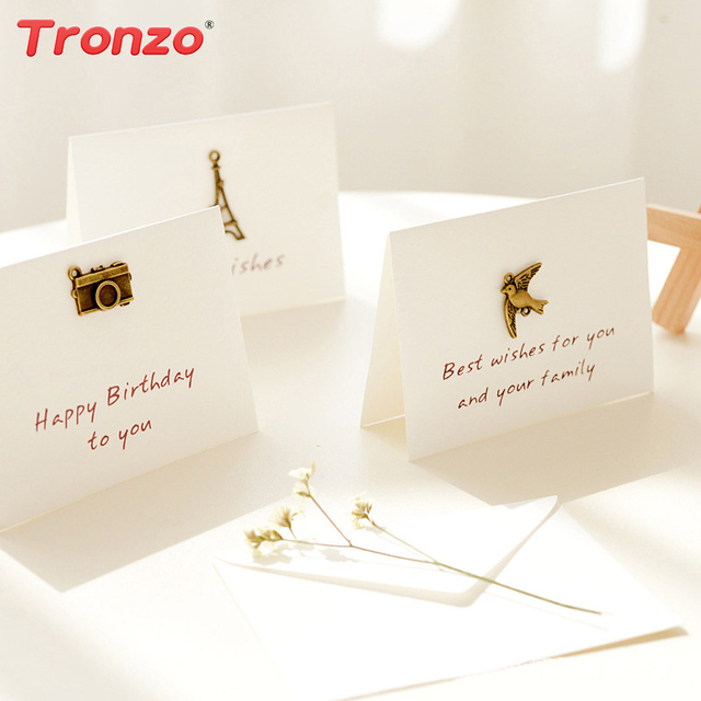 Tronzo party decoration greeting card with envelope elegant wedding tronzo party decoration greeting card with envelope elegant wedding birthday invitation cards with metallic party supplies m4hsunfo