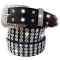 Новая мода Женский кожаный пояс женский полный алмазного бурения широкий пояс Горный Хрусталь ремни cinto feminino для женщин