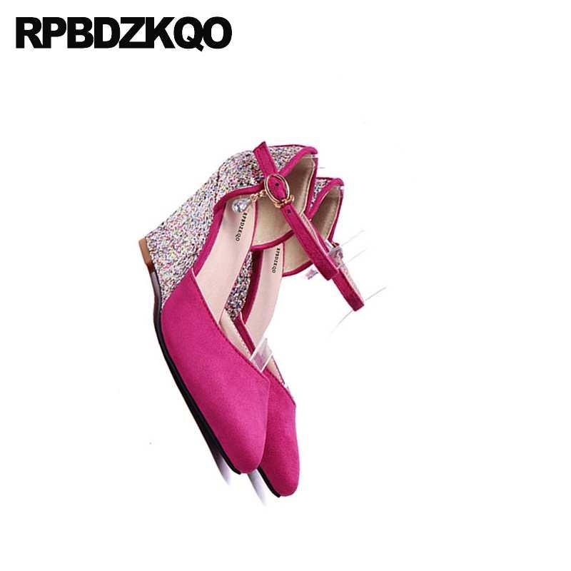 ... Pumps Big Size Glitter 11 43 10 42 3 Inch Purple Wedding Shoes Dress Pointed  Toe ... 4c9db8cb32d9