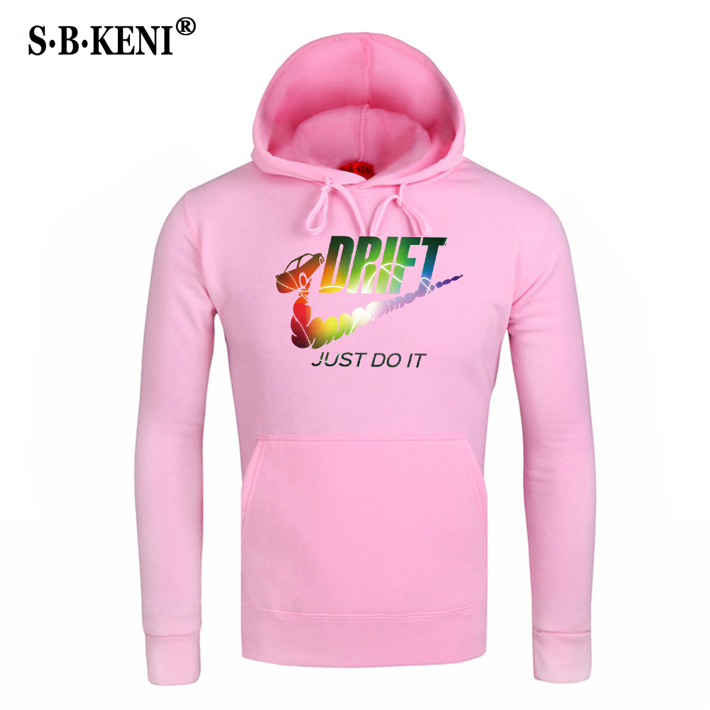 New JUST DO IT Men Hoodies Sweatshirts Cotton Groot Long Sleeve Hoodie Lightning print Mens Casual Brand Clothing Hoody 9