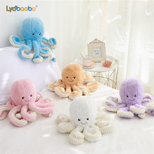 1pc 18cm Creative Octopus Plush Toys Octopus Whale Dolls & Stuffed Toys Plush Small Pendant Sea Animal Toys Children Baby Gifts(China)