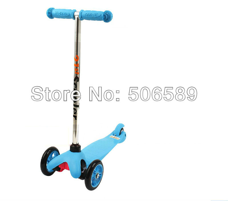 free shipping children's scooter user age 2-5 years old 3 wheels blue pink free shipping scooter children 2 15 years old max load 60kg