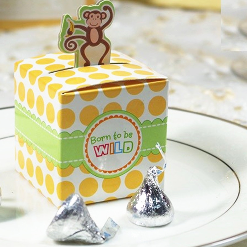 Childrens Day 4 Style Box Giraffeelephantmonkeytiger Animals