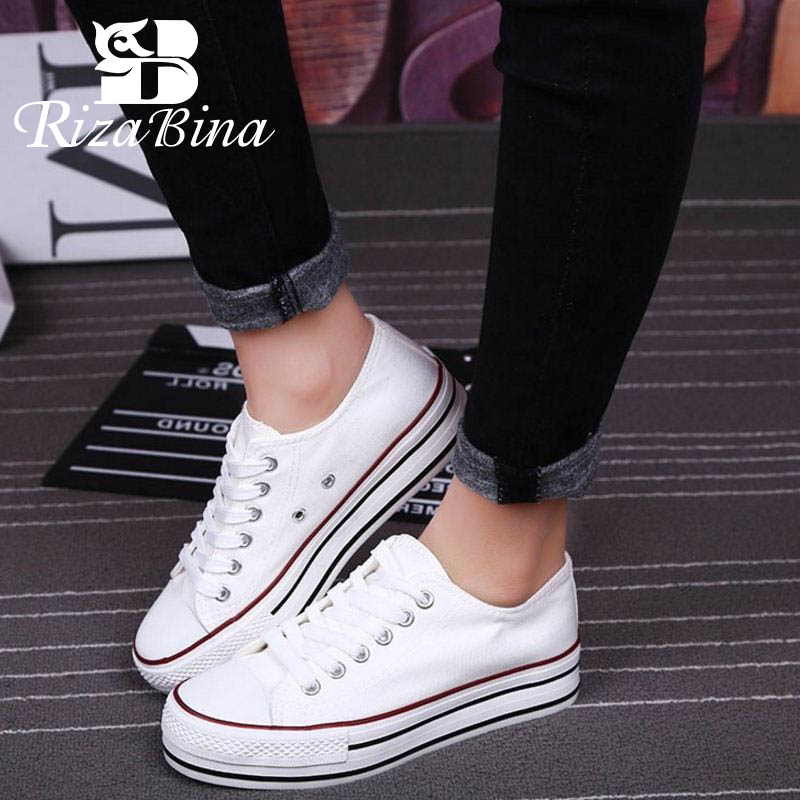 RIZABINA New Ladies Daily Casual Young Vulcanized Shoes Fashion Club Walk Vacation Shoes Women Dating Footwear Size 35-44RIZABINA New Ladies Daily Casual Young Vulcanized Shoes Fashion Club Walk Vacation Shoes Women Dating Footwear Size 35-44