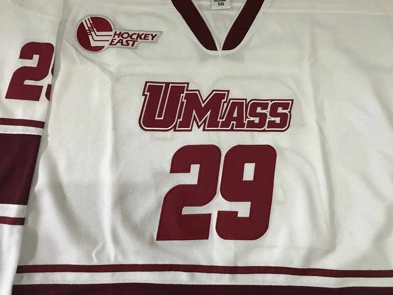 096e279ae  29 JONATHAN QUICK UMASS MINUTEMEN Men s Hockey Jersey Embroidery Stitched  Customize any number and name-in Hockey Jerseys from Sports   Entertainment  on ...