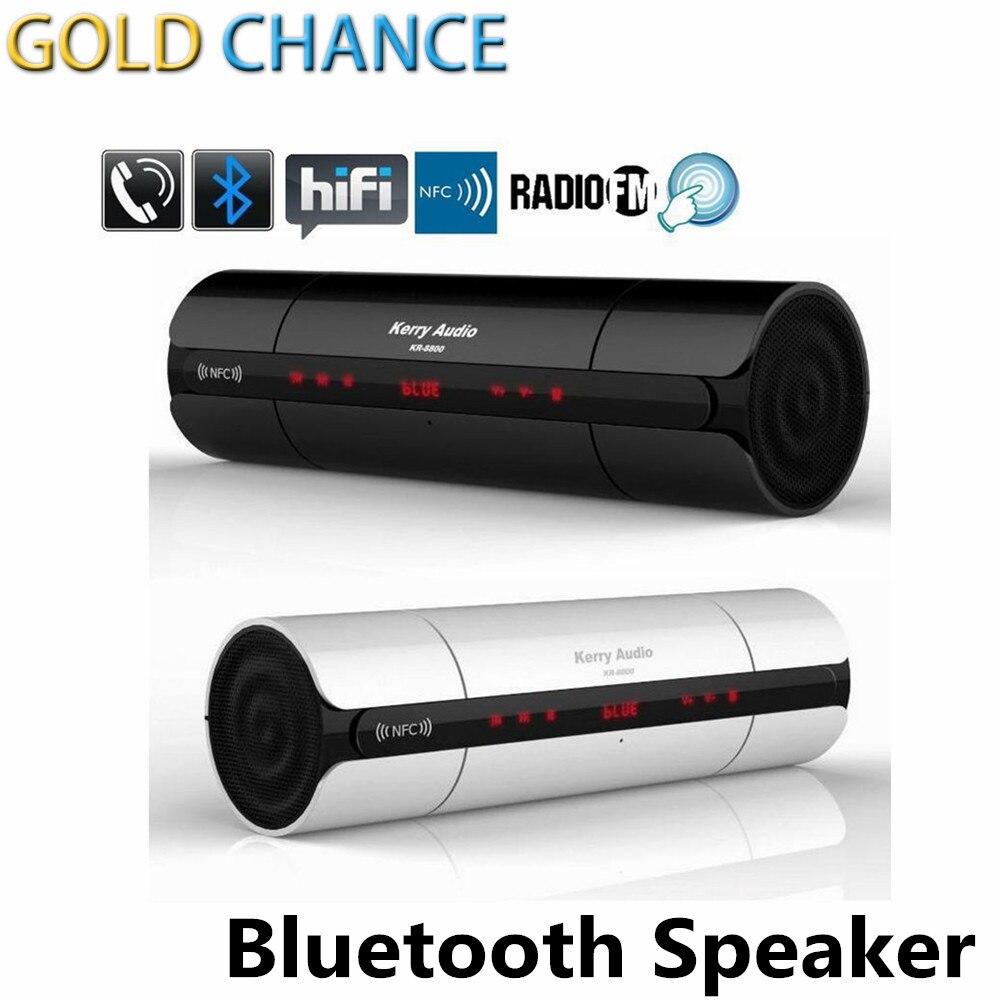 Bluetooth Speaker High Quality NFC FM HIFI Wireless Stereo Portable Loudspeakers Bluetooth Boombox Super Bass MP3