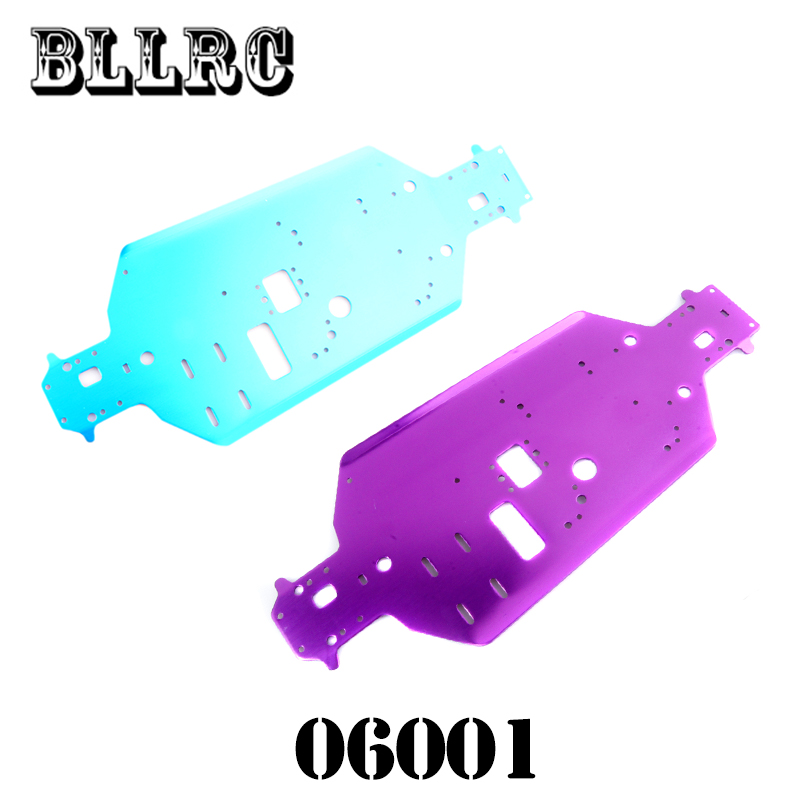 HSP RC Car 06001 Metal Chassis For RC 1/10 Off-Road Buggy / Truck Original Parts  94106 94108 free shipping rc car 1 10 hsp 02060 bl vx 18 engine 2 74cc pull starter blue for rc 1 10 nitro car buggy truck 94122 94166 94188