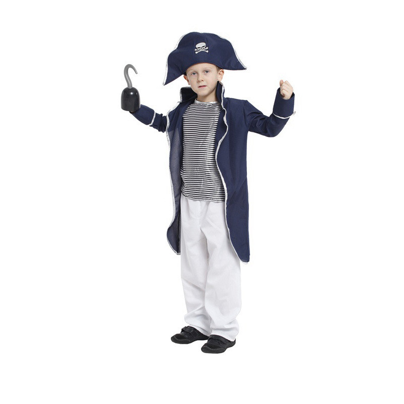 pirate Costume Halloween Cosplay Costumes Kids Fancy Children Party Halloween Costume