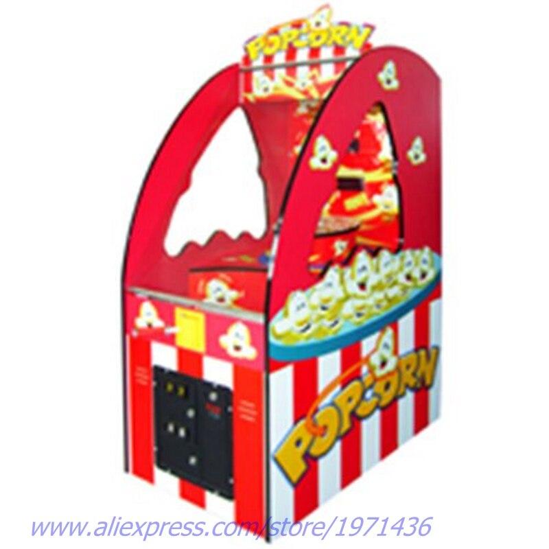 Amusement Coin Operated Popcorn Redemption Tickets Arcade Games Machine