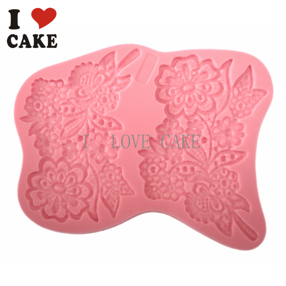 Lace Molds For Cake Decorating