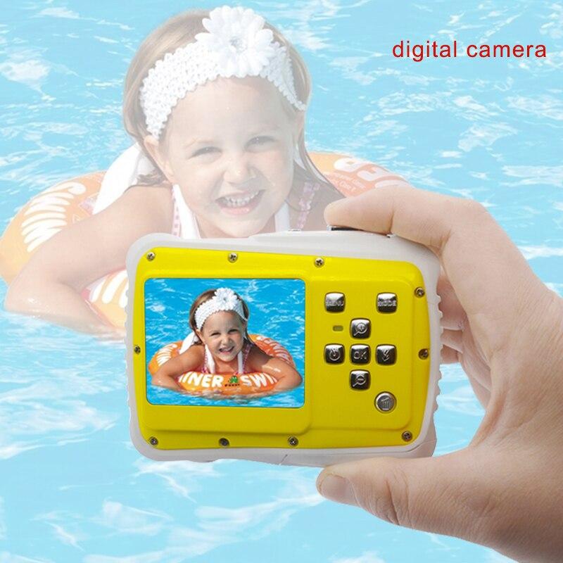 Nouveau étanche 5MP 2.0 pouces LCD HD caméra numérique enfants enfants cadeau d'anniversaire caméra sport Mini caméra pour enfants natation