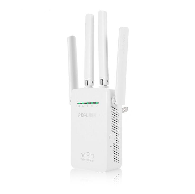 Wireless WIFI Extender Wifi-Repeater-Booster Router 300mbps Home-Network RJ45 2 20pcs/Lot