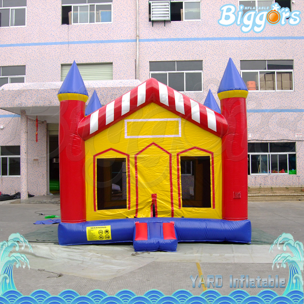 Inflatable Jumping Bouncer House Toys with Door for Rental Company ...