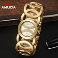 Luxury Brand Lady Gold Watches Women Full Stainless Steel Wristwatches Magic Women Bracelet Watch Ladies Wrist Watch Female