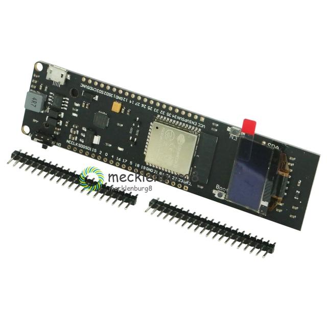 ESP32 0.96 OLED Ekran Wi Fi Bluetooth 18650 Lityum Pil Kalkanı Geliştirme Modülü CP2102 Değiştirin ESP8266 Satış Lideri