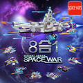 2016 новые оригинальные военный истребитель пространство терминатор строительные блоки корабль модель комплект 8 в 1 звездные войны рисунках совместим Legoe