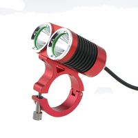 8 4V 5000LM 2 X CREE XML U2 LED Bicycle Light Bike Head Lamp Waterproof Headlight