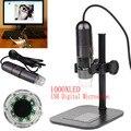 8 LED 50X-1000X USB Digital Microscope Endoscope Microscopio Magnifier Camera w/ Stand