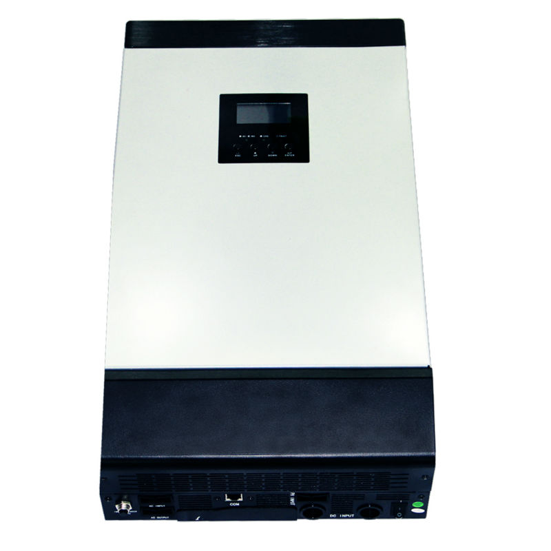 MAYLAR@ 48VDC 4000VA Peak Power 8000VA Pure Sine Wave Solar Hybrid Inverter Built-in 60A MPPT Controller With Communication LCD maylar 12vdc 1000va peak power 2000va pure sine wave solar hybrid inverter built in 50a pwm controller lcd display