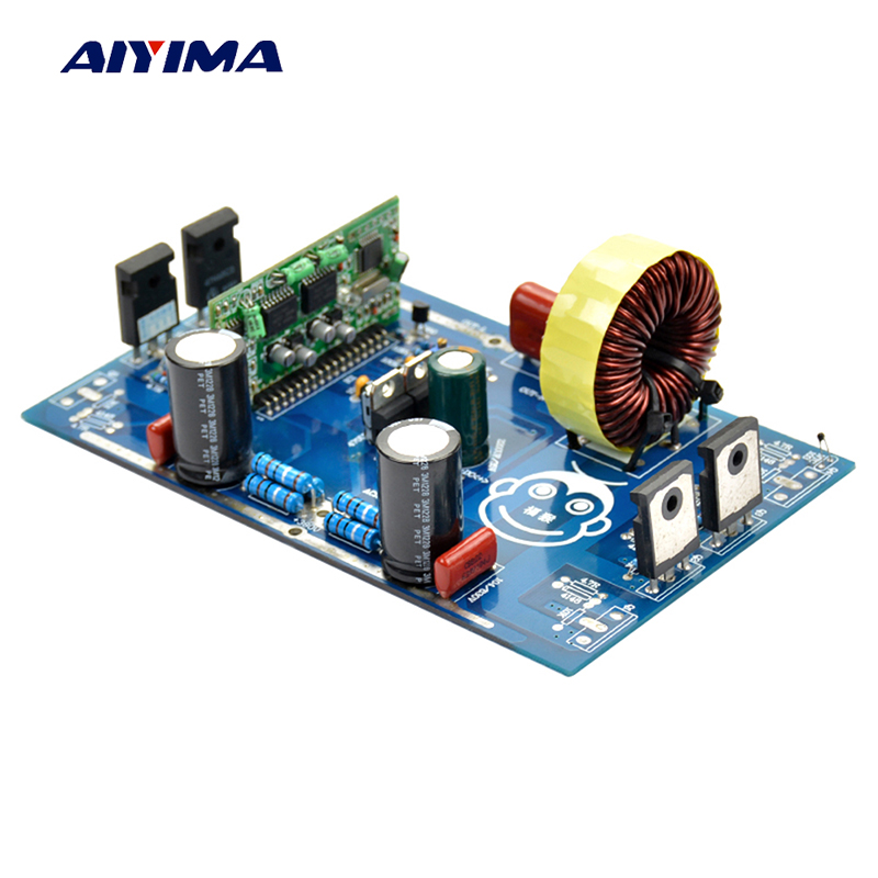 Aiyima 2000W Pure Sine Wave Inverter Power Board Post Sine Wave Amplifier Board Finished Goods цена