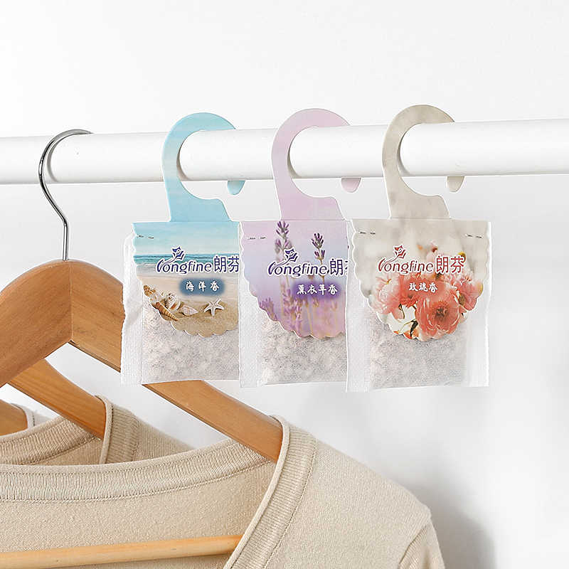 Home Fragrance Sachets Hangable Home Closet Sachets Scented Bags Interior Wardrobe Mothproof Insects Deodorant Aromatherapy Bags