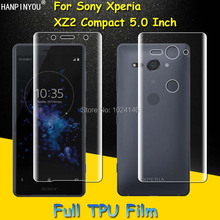 Front/ Back Full Coverage Clear Soft TPU Film Screen Protector For Sony Xperia X