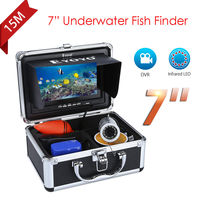 Eyoyo 7 Color Monitor 15m DVR Professional Fish Finder Underwater Ocean Fishing Video Camera 1000TVL 12VDC