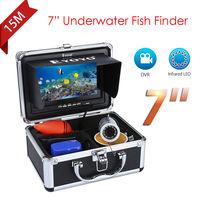 Eyoyo 7 Color Monitor 15m DVR Professional Fish Finder Underwater Ocean Fishing Video Camera 1000TVL 12VDC
