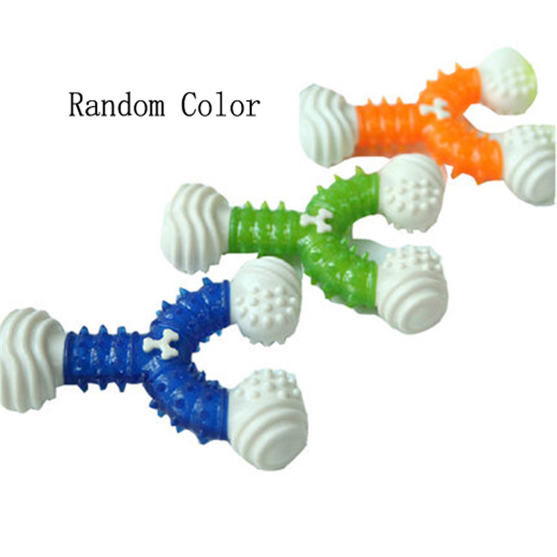 Pet Dogs Toys Chew Interaction Play Games Speelgoed For Large Molar Tooth Thorn Sound Puppy Trainning Funny Dog Products DDMX77