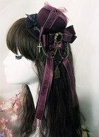Lovely Gothic Victorian Era Bonnets Lolita Headdress Head Wear
