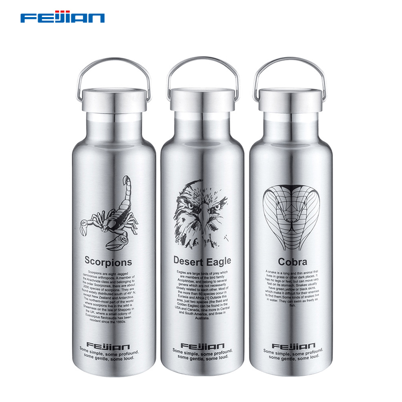 Feijian 304 Stainless Steel Colorful Thermos Double Wall