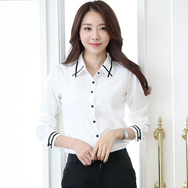 KARTMEY Camisa Profesional de Las Mujeres Camisas de Vestir Blusa para Mujer  Blusas Feminina Mujeres de eddf75af41af